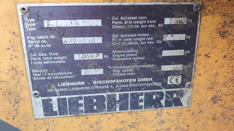 Liebherr L538